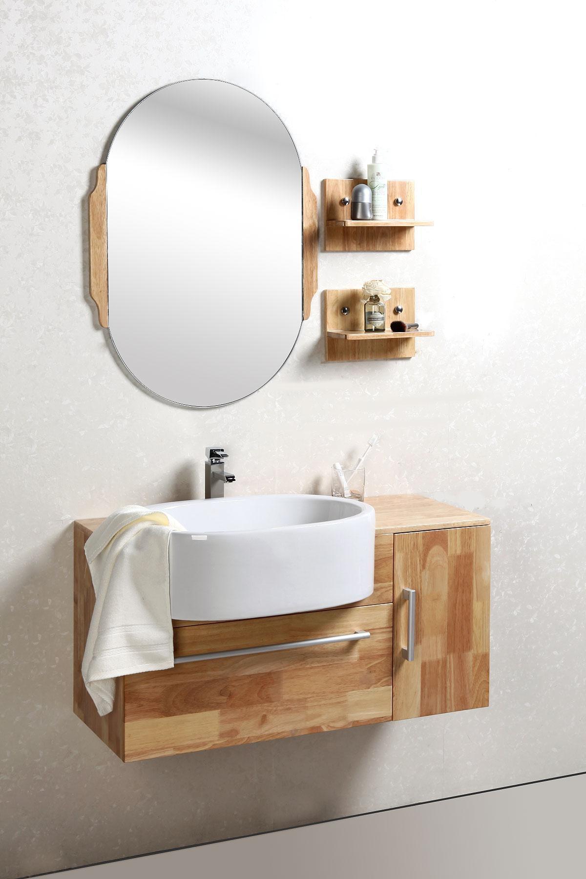 Armario Capsula Vida Organizada ~ Foto Mueble de baño lavabo, armario y espejo NIVAN foto