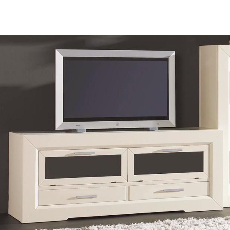Foto mueble para tv con 2 cajones y 2 puertas correderas - Mueble puertas correderas ...