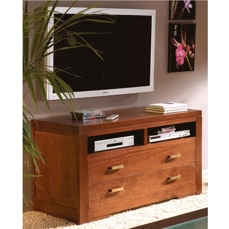 Muebles de sala para tv de madera for Mueble con soporte para tv