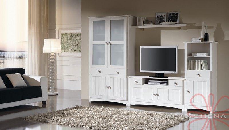 Muebles rusticos blancos envejecidos 20170719061350 - Muebles de salon en blanco roto ...