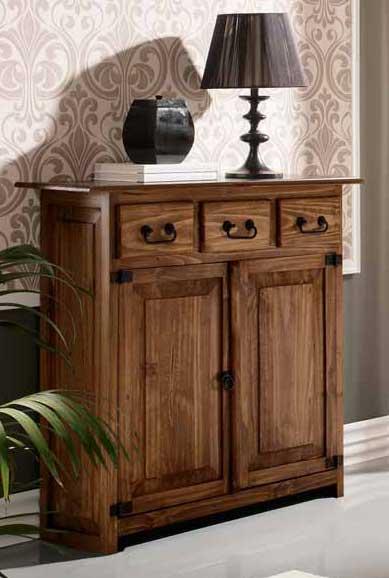 Foto mueble rustico recibidor zapatero terrak foto 710487 - Mueble recibidor rustico ...