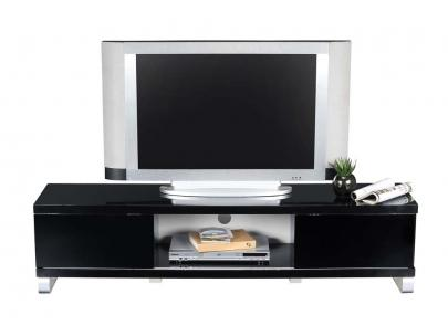 Foto cama litera elevatio 90x190cm y 140x190cm negro - Mueble tv negro ...
