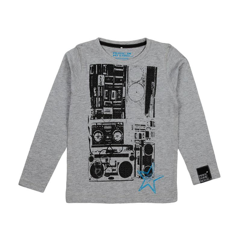 Foto Name it kids Camiseta de mangas largas - dean kids ls top 113 - Gris