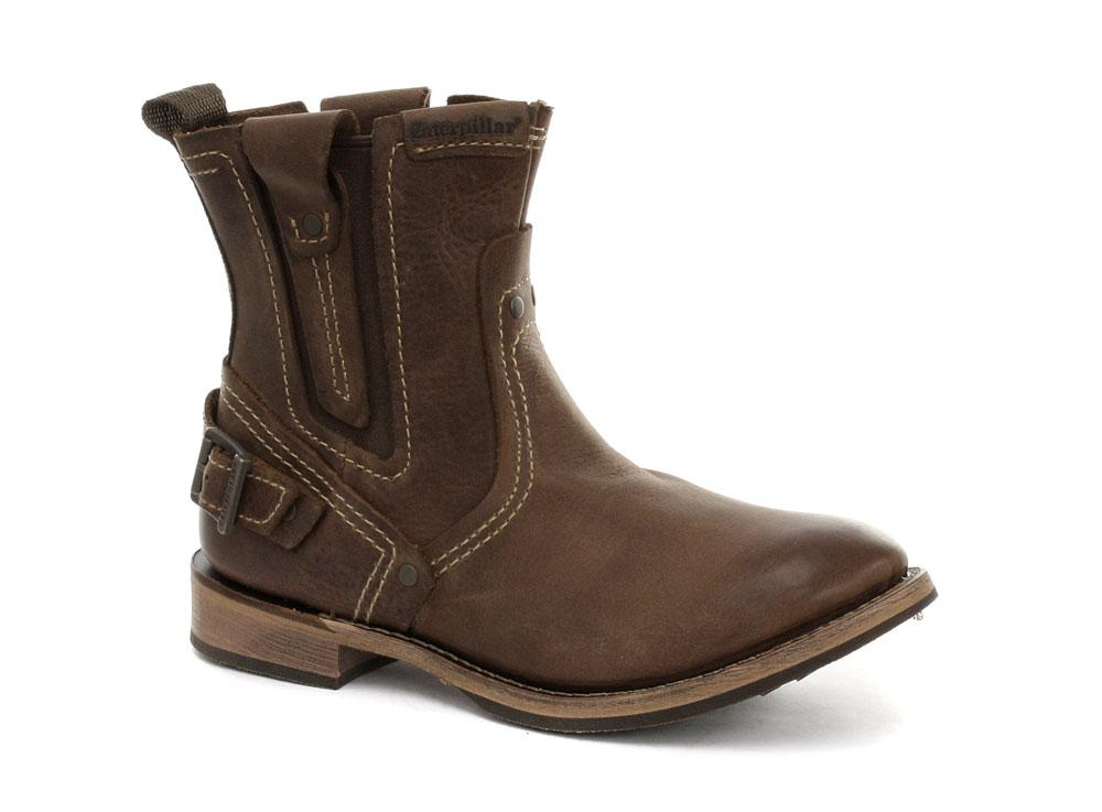 Foto New CAT Caterpillar Vinson Peanut Brown Mens Boots