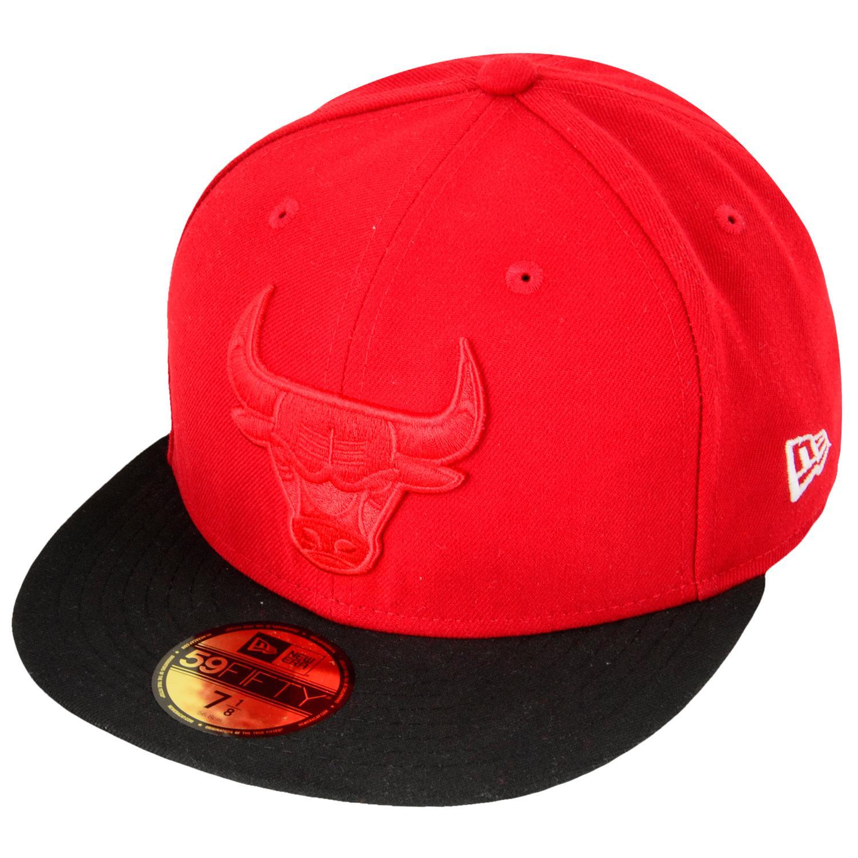 Foto New Era Inj Team Tonal Chicago Bulls Gorras Empotrados Rojo Negro foto 927891