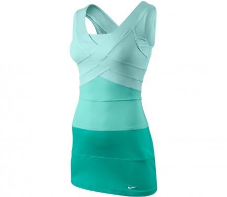 Download Nike nike statement rally vestido de tenis mujer verde su12