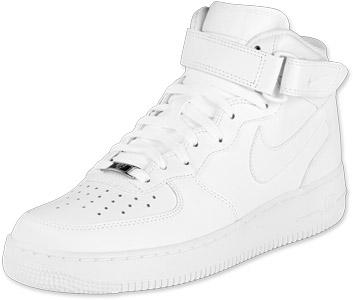 13 0 Mid Calzado Eu Us Air Force Foto 47 606905 1 Nike 5 Blanco PTkZXuOi