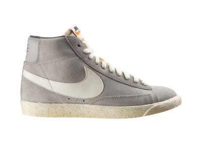 Foto nike blazer high suede zapatillas hombre gris for Foto nike blazer