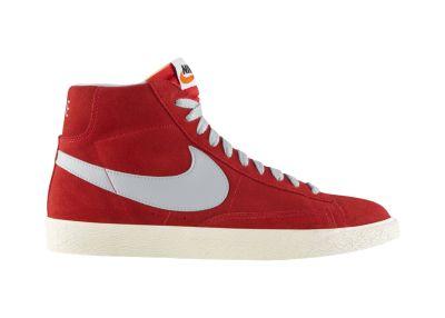 Zapatos nike de mujer botines rojos for Foto nike blazer