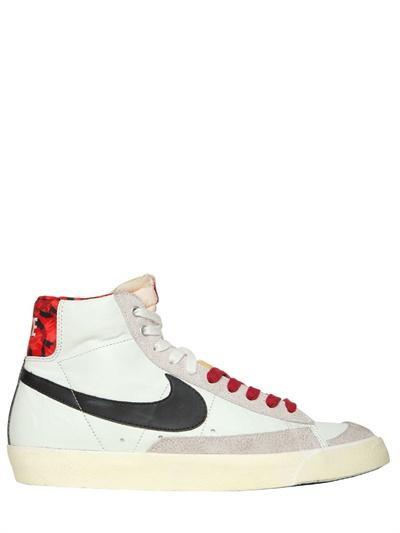 Foto zapatos creeper de agujetas charol y piel for Foto nike blazer