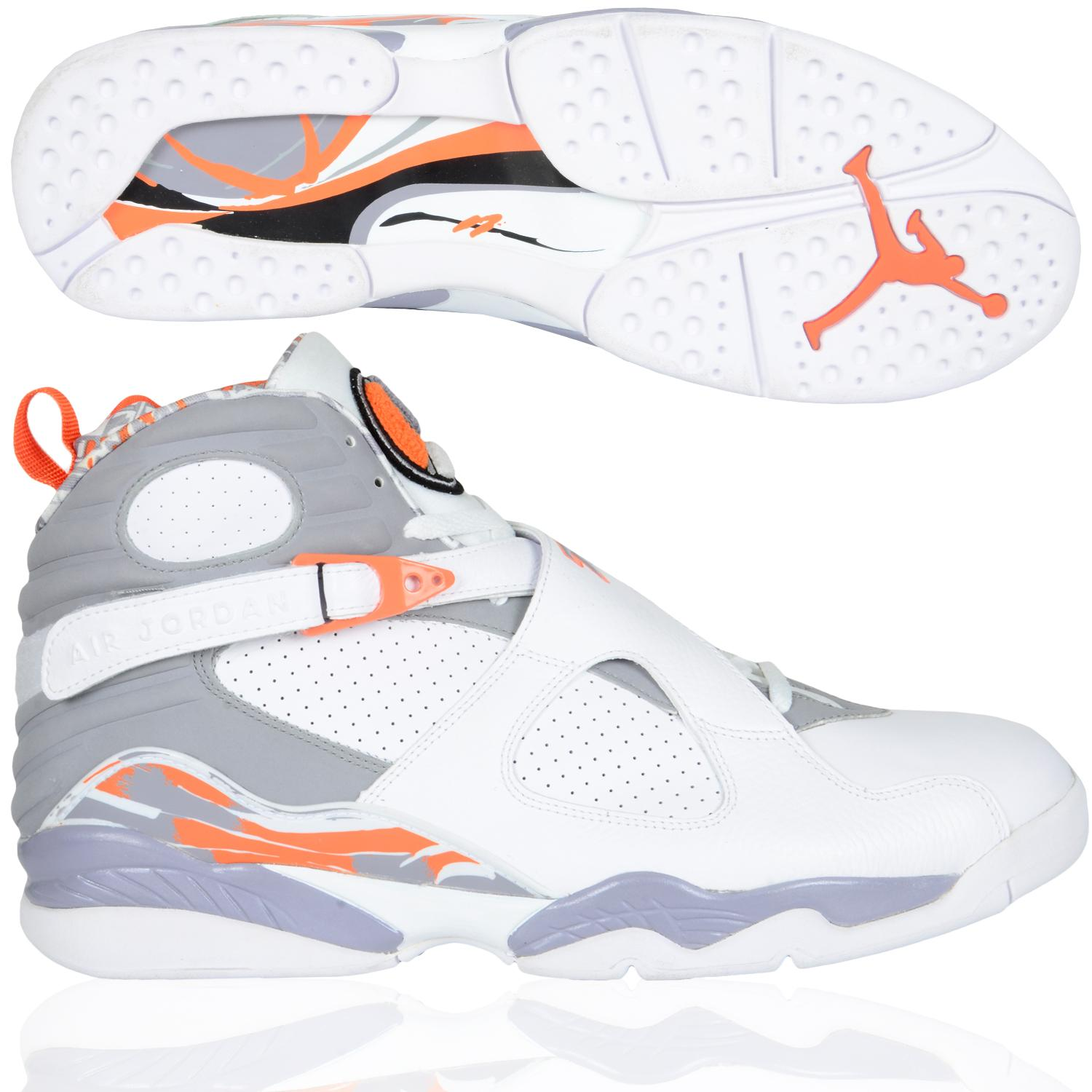 quality design 677c3 373e2 ... original zapatos air jordan 8 pea pod blaze air jordan 8 blanco and  naranja .
