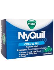 Foto Nyquil® Dayquil® Gripe Y Resfriados 72 Cápsulas Líquidas foto 140312