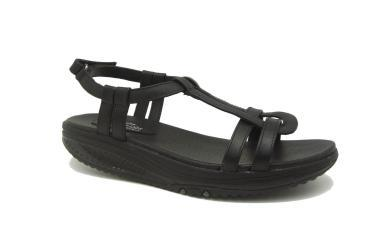 Negro Sandalias Skechers Foto Ofertas Mujer Ups 24894 De Shape b76yYfgv
