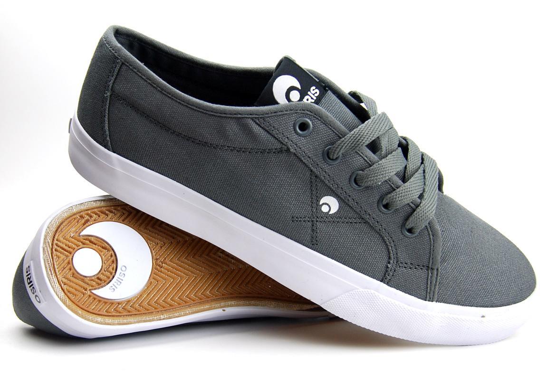 fbbfca1cb79 Foto Osiris Mith Skate Shoes - Steel / Steel / White foto 644379