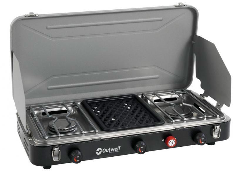 Foto outwell cocina camping premium con 3 fuegos foto 59574 - Cocinas de camping ...