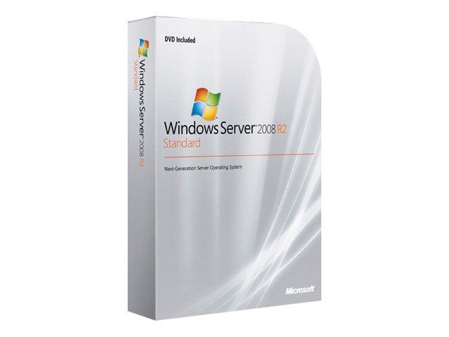 Foto P73-05128 - Microsoft Windows Server 2008 R2 Standard w/SP1 - licen...