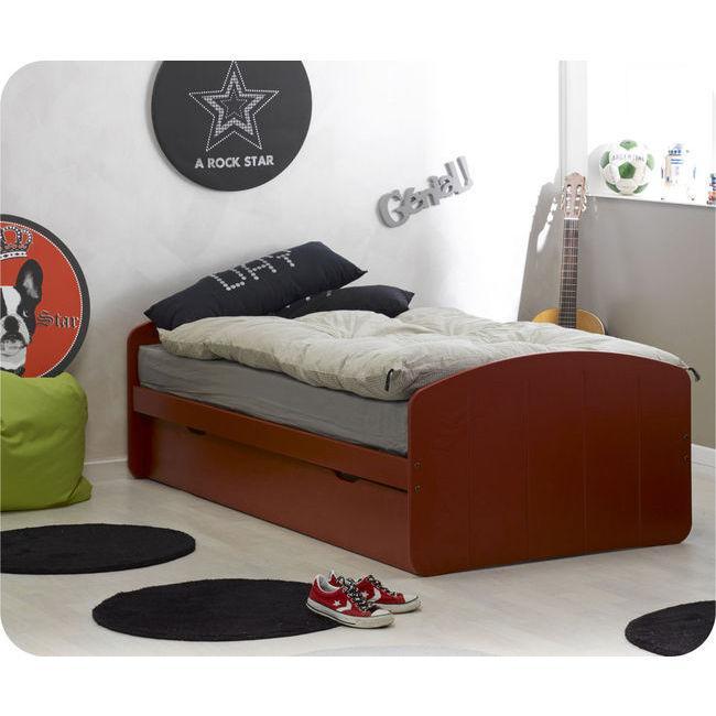 Foto pack cama nido dream 39 in roja con 2 colchones foto 431911 for Cama nido con colchones