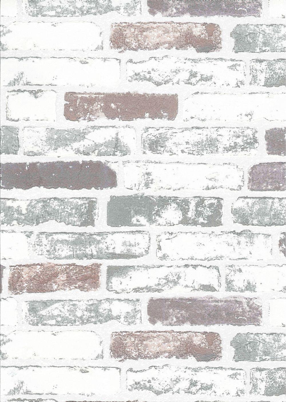 Ladrillo textura del papel pintado
