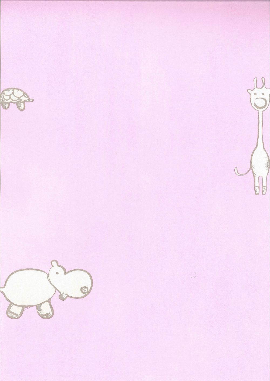 Foto papel pintado infantil badaboom animales bb109 foto - Papel pintado animales ...