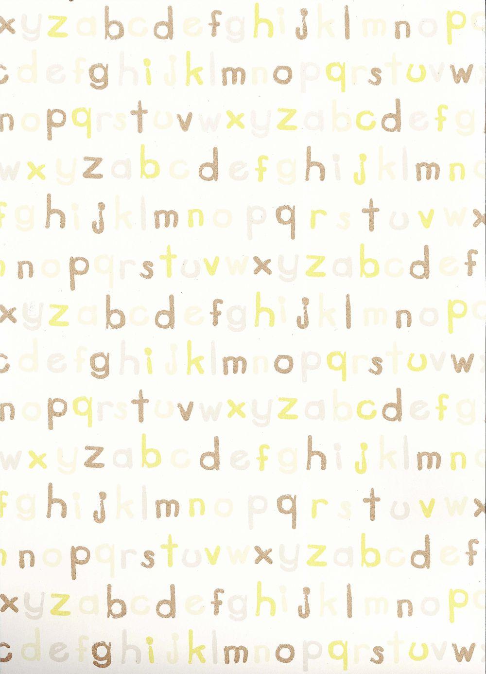 Foto papel pintado infantil badaboom letras bb115 foto 306140 - Papel pintado letras ...