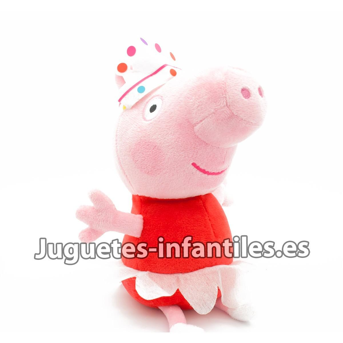 comprar peluche peppa pig images. Black Bedroom Furniture Sets. Home Design Ideas