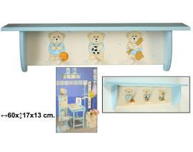 Foto perchero de pared infantil estante foto 163931 - Modelos de percheros de pared ...