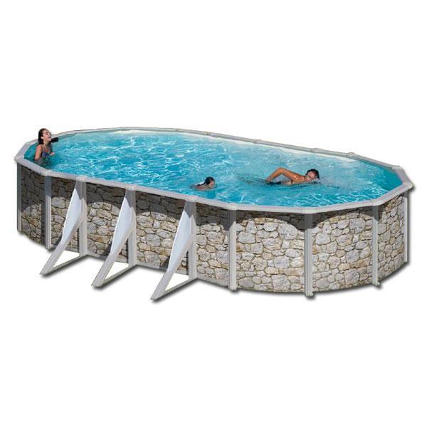 Foto piscina gre celosia 460 x132 cm foto 349320 for Piscinas chapa baratas