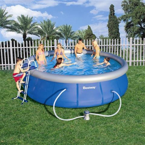 Foto piscina desmontable 457x122 cm bestway 57148 foto 409057 for Piscina portatil grande