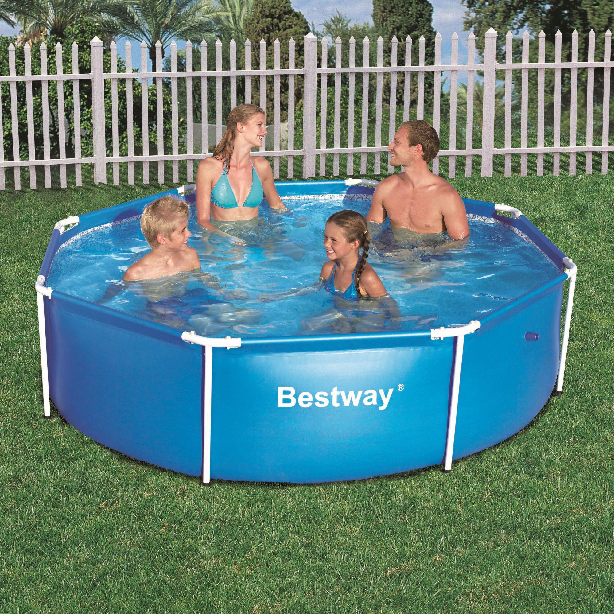 Foto piscina con depuradora de 366 x 76 cm bestway foto 586651 for Piscinas bestway catalogo