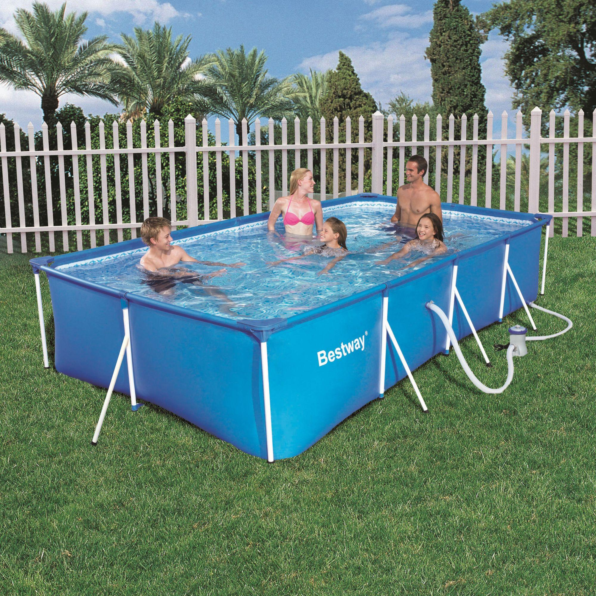 foto motor electrico hydro force tipo bush 312w bestway On piscina desmontable 4x2