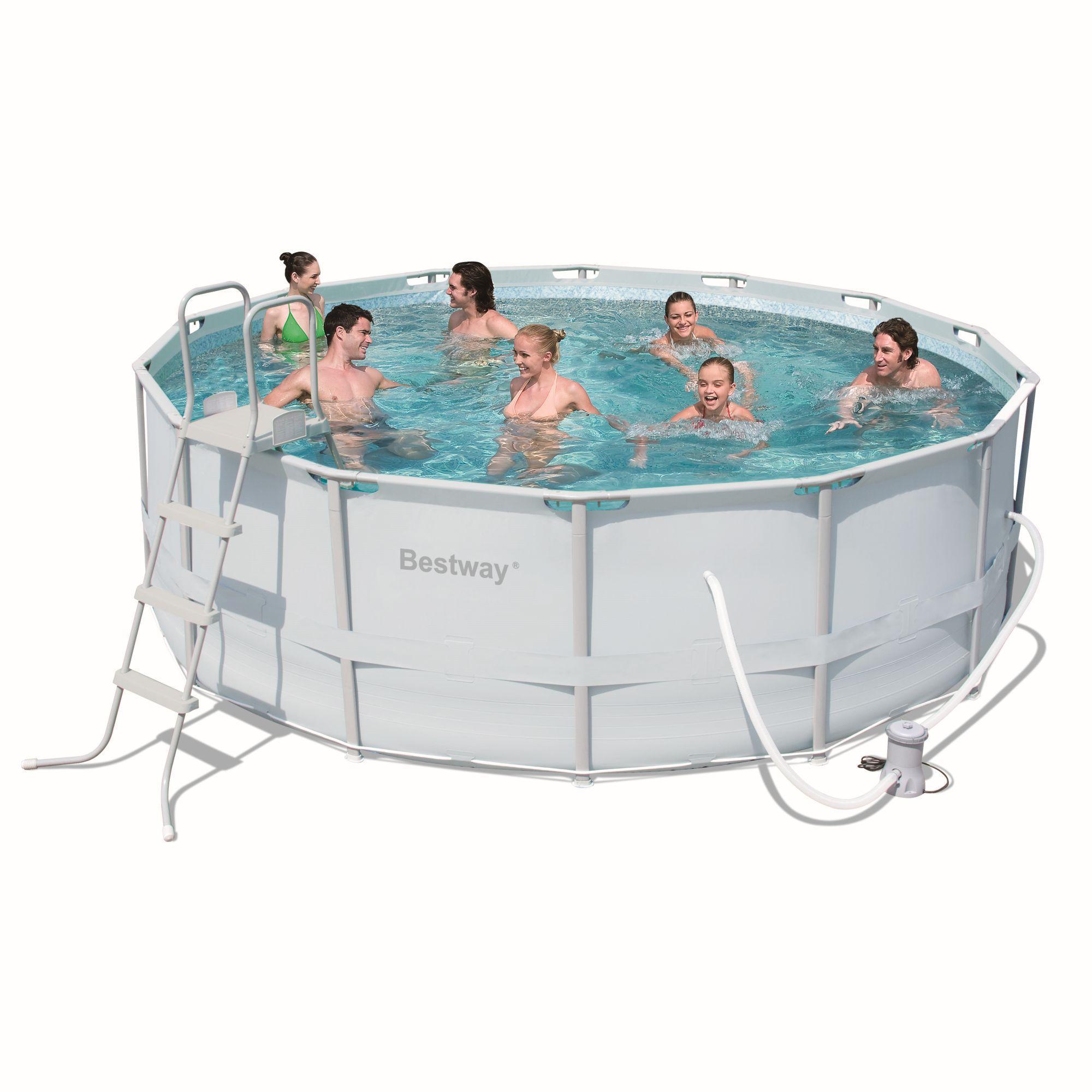 Foto piscina desmontable 412x201x122 56244 foto for Piscinas bestway catalogo