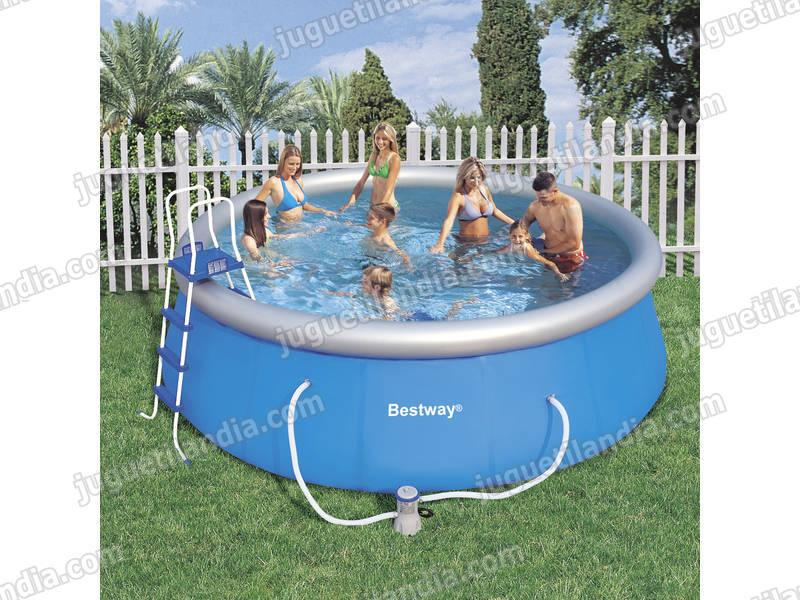 Foto piscina desmontable 457x122 cm bestway 57148 foto 409057 for Piscina 457 x 122