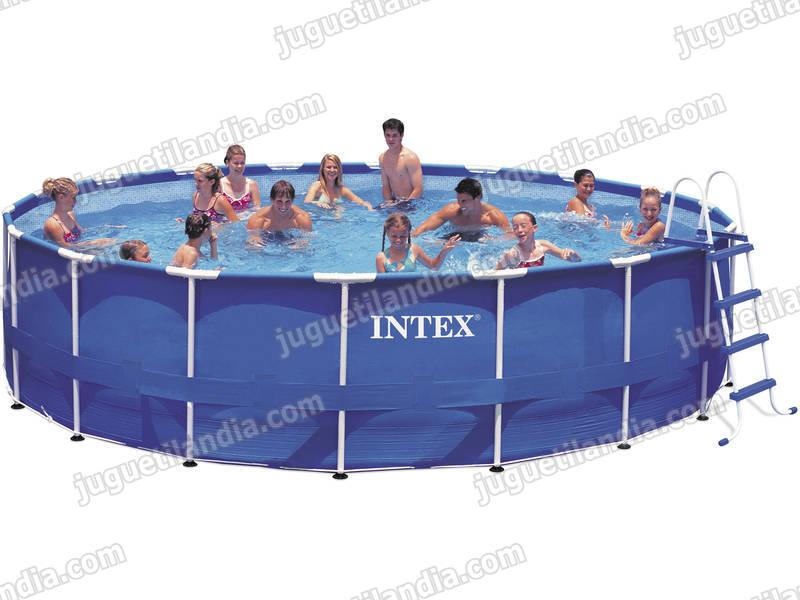 Foto piscina desmontable 549x122cm intex 54952 foto 412561 - Cubre piscinas intex ...
