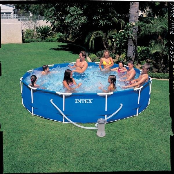Foto depuradora filtro de arena l h intex 56674 for Temporizador piscina