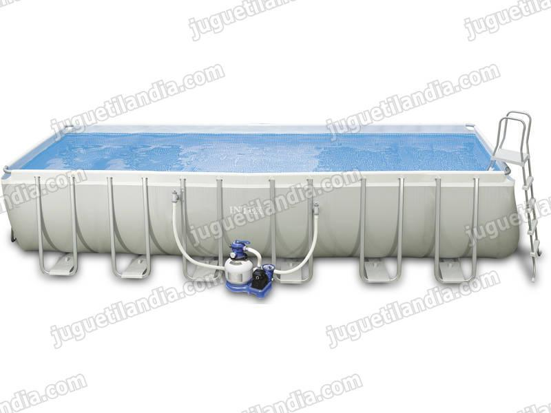 Foto Piscina Rectangular 975x488x132 Cm Intex 54990 Foto