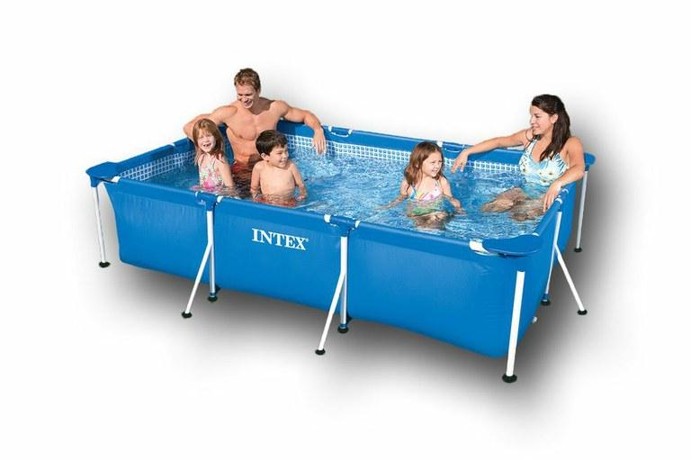 Foto piscina intex rectangular 260x160x65cm foto 162563 for Piscina intex rectangular