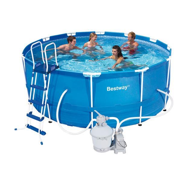 Foto piscina bestway steel pro 366x122 12020 foto 313489 for Piscinas bestway catalogo