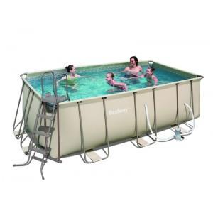 Foto piscina tubular beige bestway depuradora accesorios for Piscina tubular bestway