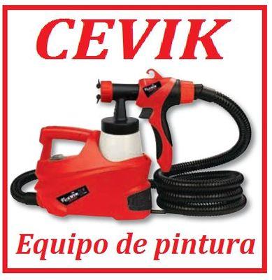 Foto pistola pintura aire caliente cevik kit compresor - Pistola de pintura sin compresor ...