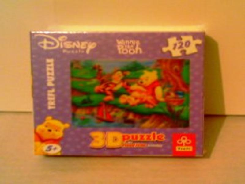 Cortina Baño Winnie Pooh:Puzzle Disney Winnie The Pooh 2x120pz 35611 Tienda: OchoQueOchenta