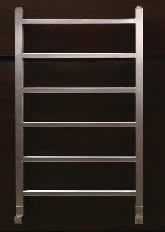 Foto radiador toallero de acero inoxidable modelo astor de for Toallero acero inoxidable