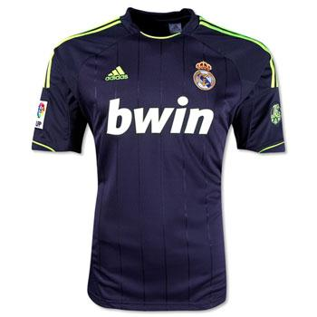 Foto Real Madrid 12/13 2a Camiseta