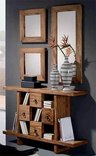 Foto cama de forja con piecero agata foto 891334 for Muebles rusticos modernos