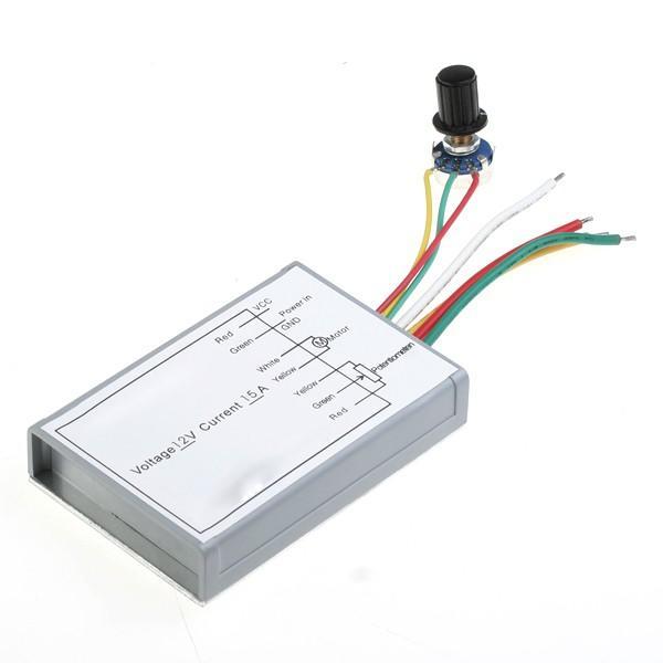 Foto Regulador de Velocidad PWM DC para motores 12V 15A radio control foto 95851
