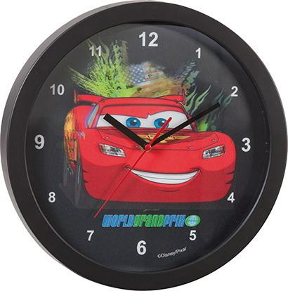 Foto RELOJ DE PARED CARS 3D 30 cms
