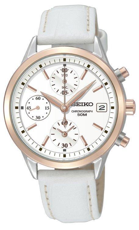 241795670fa4 Foto Reloj Seiko Neo Sports Sndy42p2 Mujer Blanco foto 28903