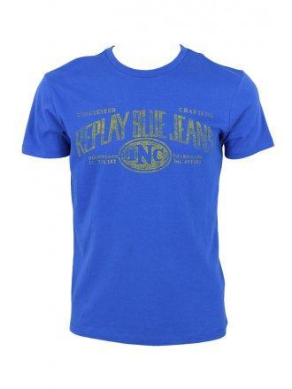 Foto camiseta de hombre replay foto 3884 for Replay blue jeans t shirt