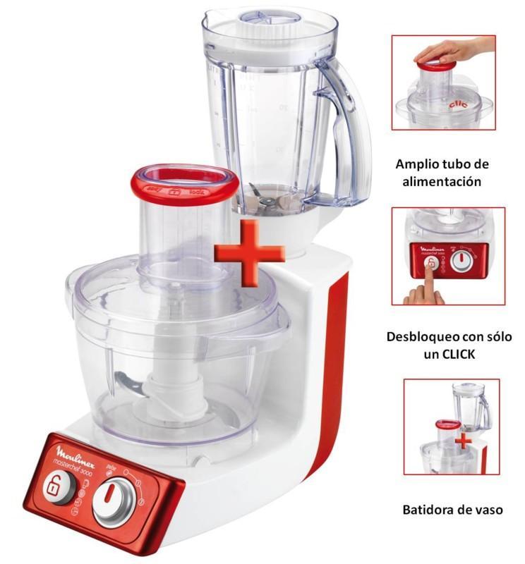 Foto robot cocina moulinex fp3121b1 foto 481268 - Robot de cocina moulinex 25 en 1 ...