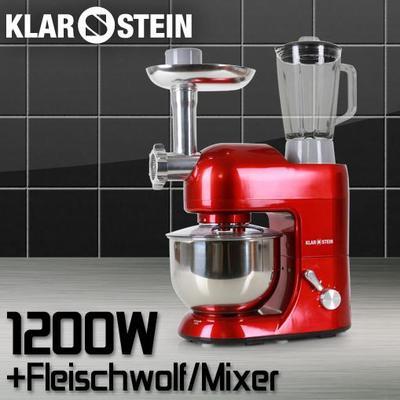 Foto robot cocina multifuncion klarstein 1200w 5 l - Robot de cocina batidora ...