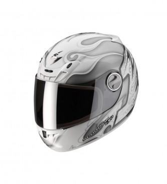 Foto Scorpion. Casco integral Exo 450 The One blanco